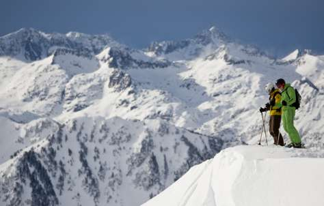 Esquí entre amigos