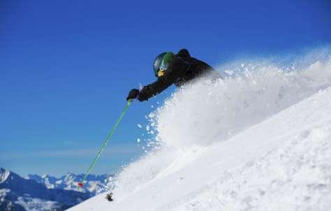 Sin parar de esquiar