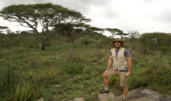 Rodrigo en Tanzania