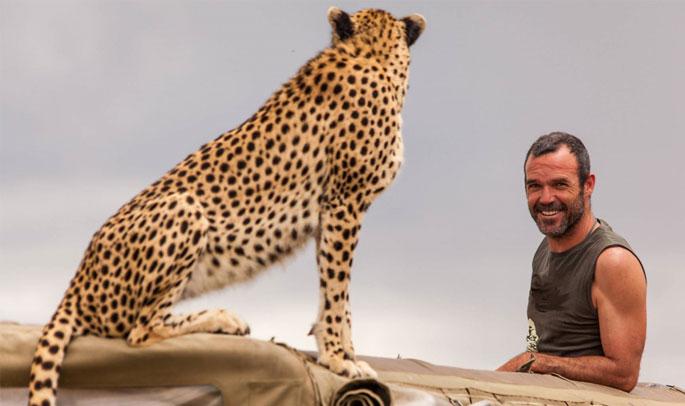 Javier de safari