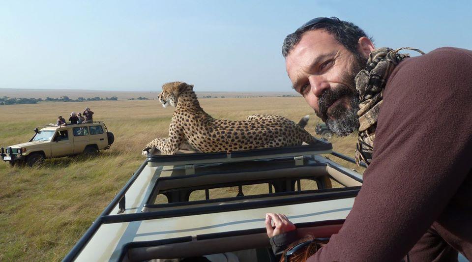 Javier en Masai Mara