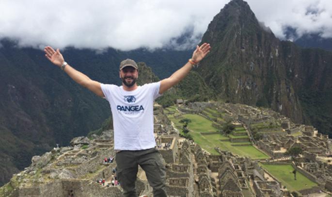Rodrigo en Machu Picchu