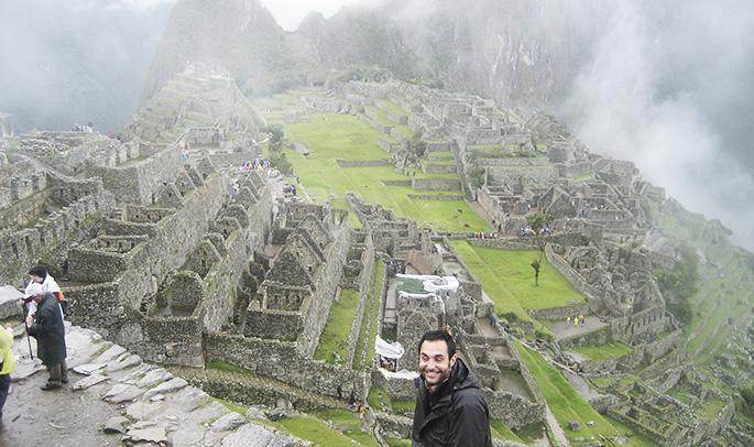 Juanlu en Machu Picchu