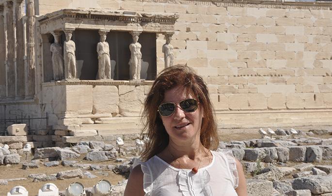 Gema en Atenas