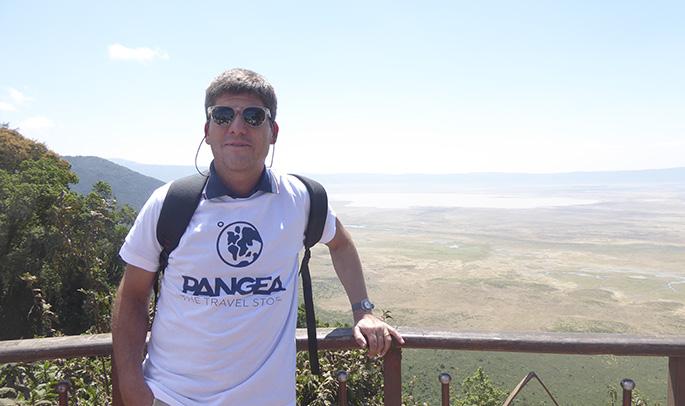 Oriol en el Cráter del Ngorongoro