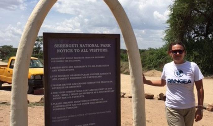 Mayte en Serengeti