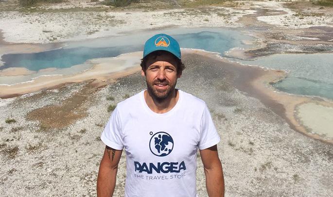 Javi en Yellowstone
