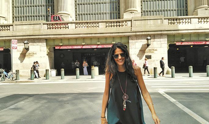 Andrea en Nueva York