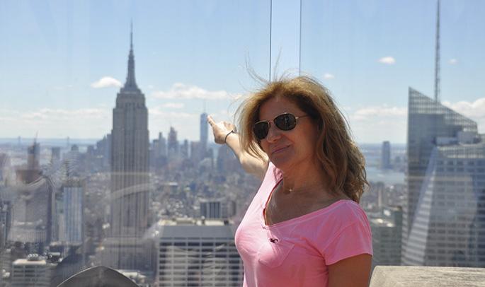 Gema en Nueva York
