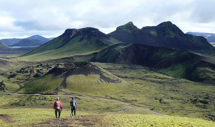 Caminando into the wild, Islandia