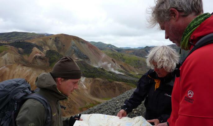 Bram de guía en Islandia