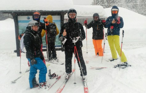 Unos días de esquí perfectos
