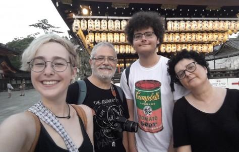 Japón con la familia