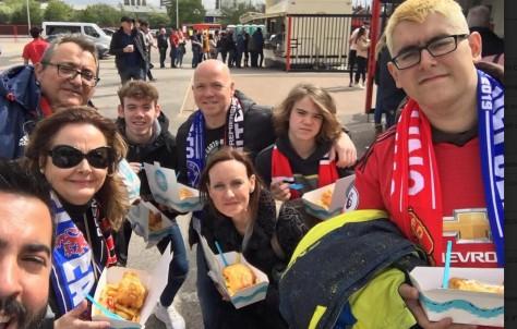 Sensacional experiencia de puro fútbol british