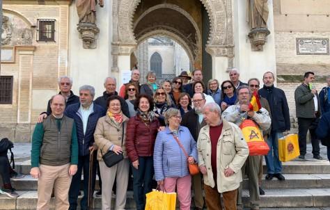 Viaje a Sevilla con amigos
