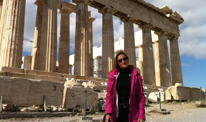 Cristina en Atenas