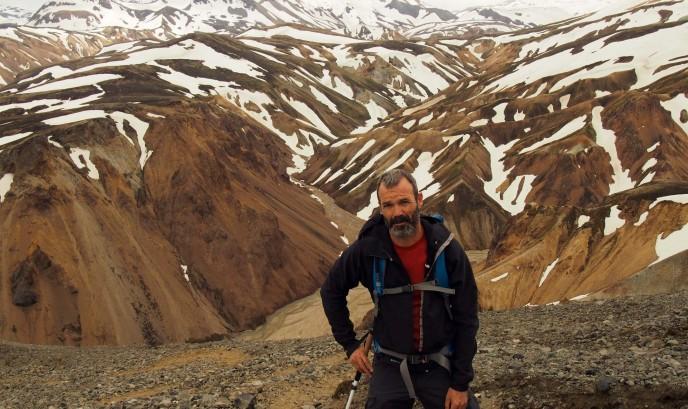 Javier en Islandia