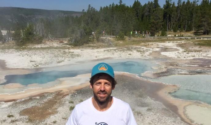 Javier en Yellowstone
