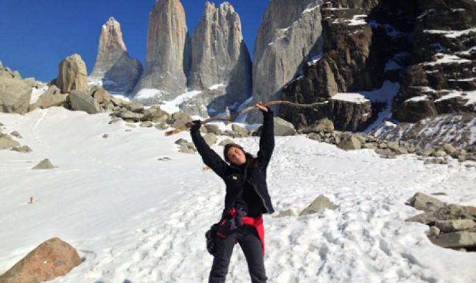 Carmen en Torres del Paine