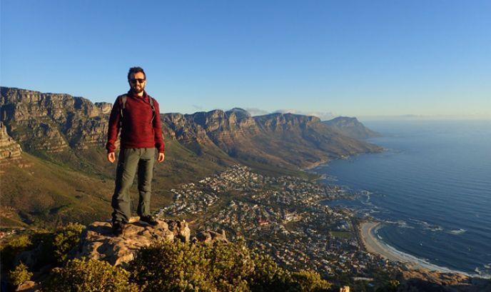 David en Ciudad del Cabo