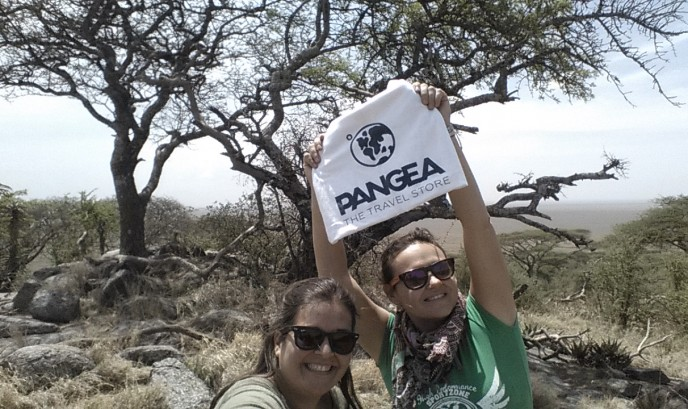 Eva y Mayte en Serengueti