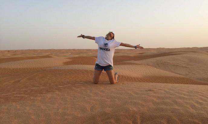 Diana en el desierto de Túnez