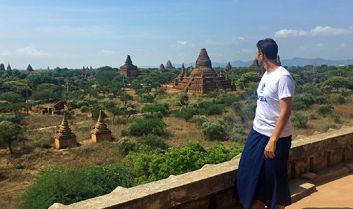 Nacho en Bagan