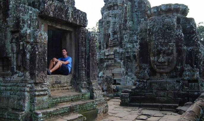 Nacho en Angkor