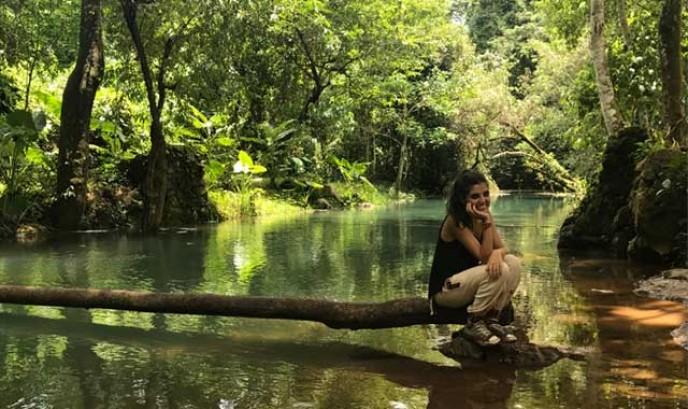 María en la jungla