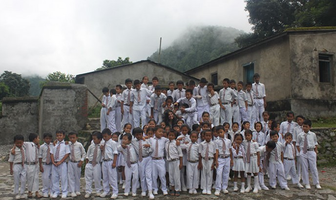 Escuela de Bhimpedi