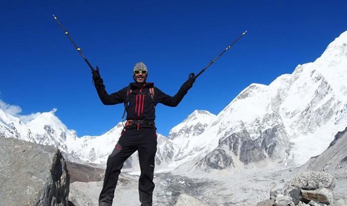 Javier en Nepal