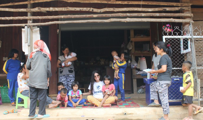 Tribu Akra en Chiang Mai