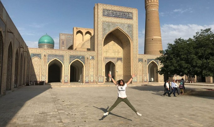 Carmen en Bukhara