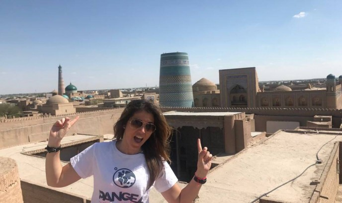 Carmen en Khiva
