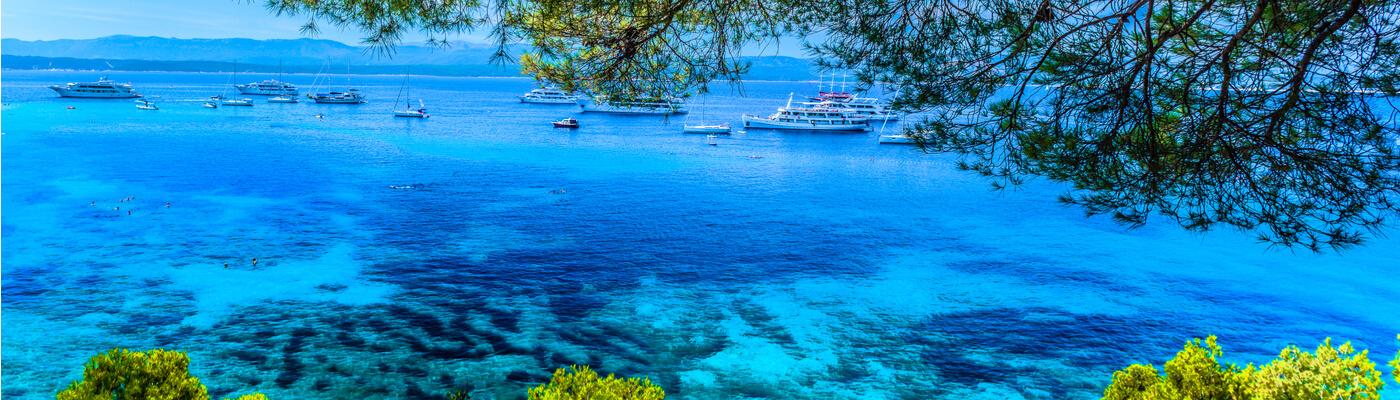 Islas Mljet y Brac