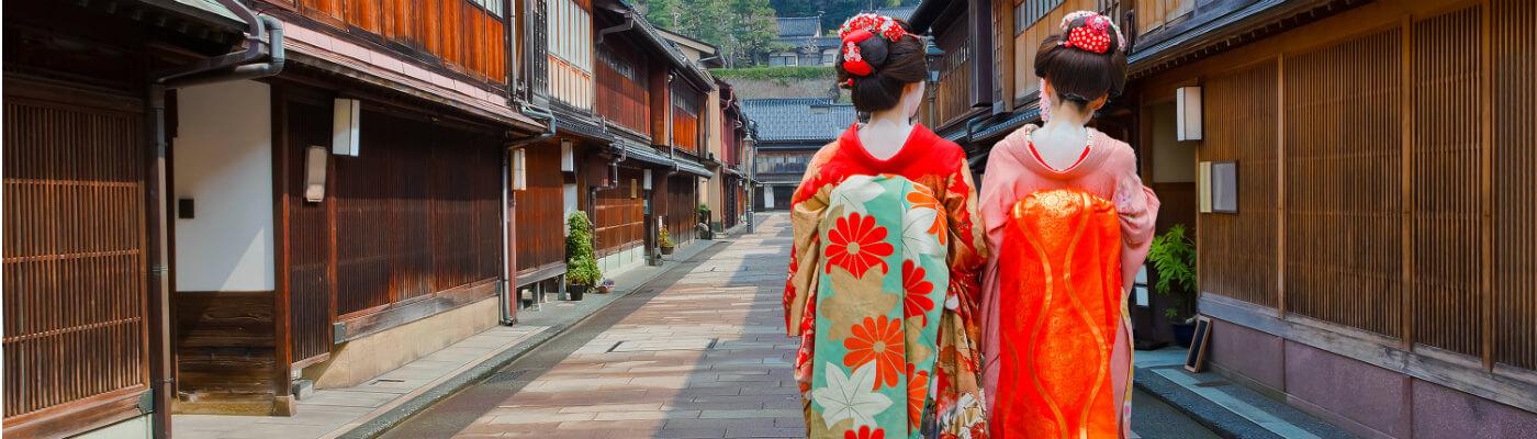 Geishas y samuráis