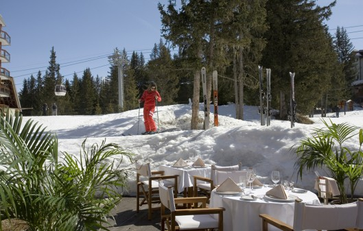 Glamour alpino