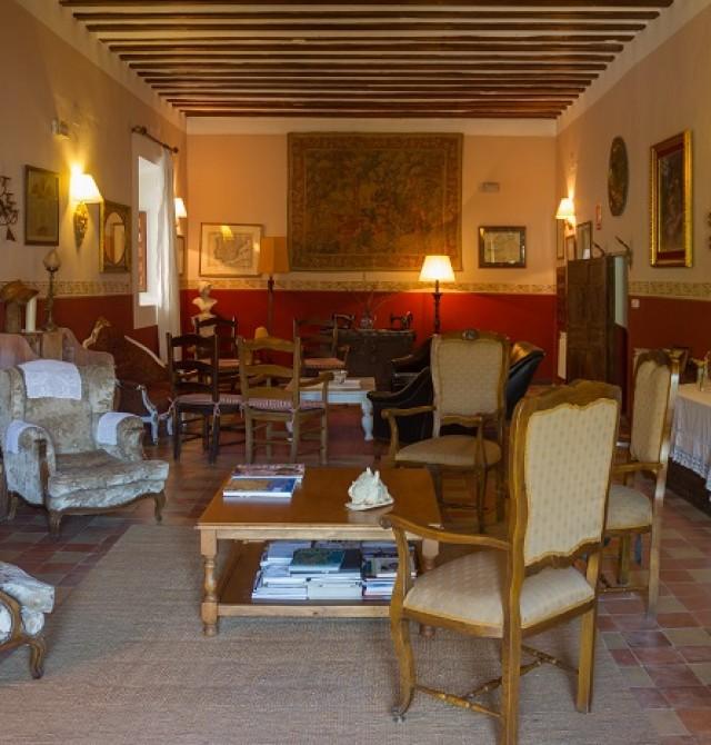 salon en Cuenca, Huete