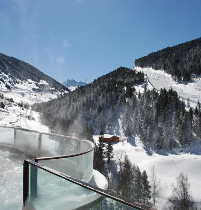 A pie de pista en Pas de La Casa, Andorra