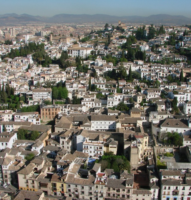 El Albaicín en Granada