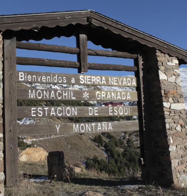 La estación más meridional de Europa en Sierra Nevada, Granada