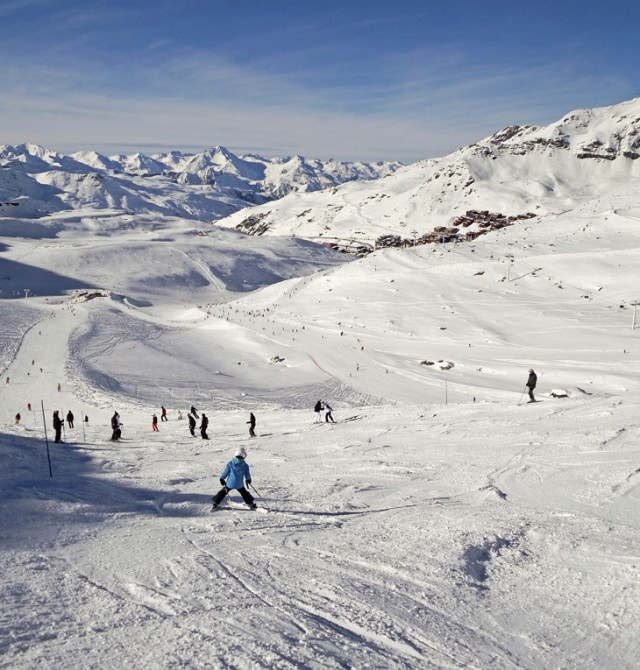 600 km de pistas en Val Thorens, Francia