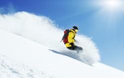 ¿Snowboard o esquí? en Vars, Francia