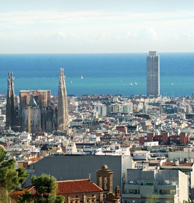 Barcelona  en España, Francia, Italia