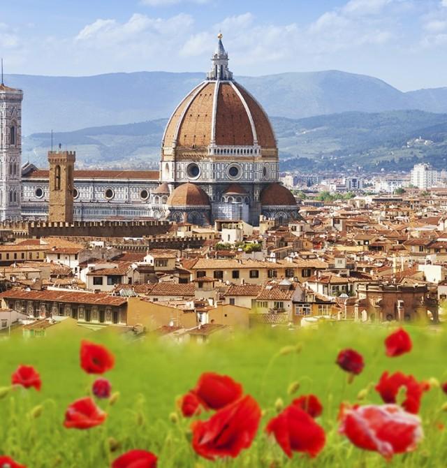Florencia en España, Francia, Italia