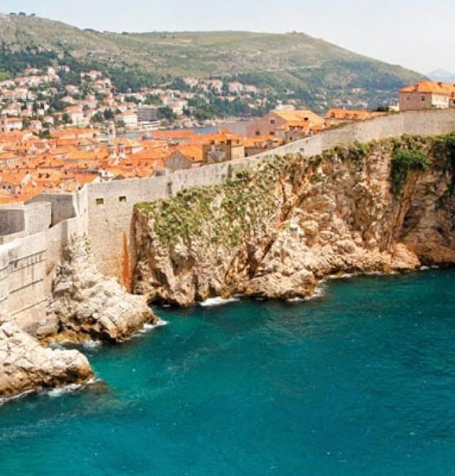 Dubrovnik en Italia, Croacia, Grecia, Francia, España