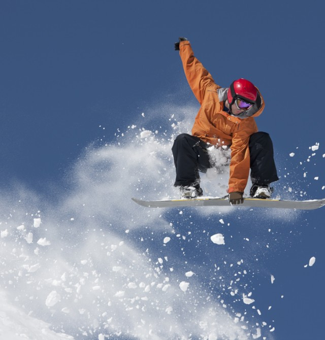 snowboard en Avoriaz, Francia