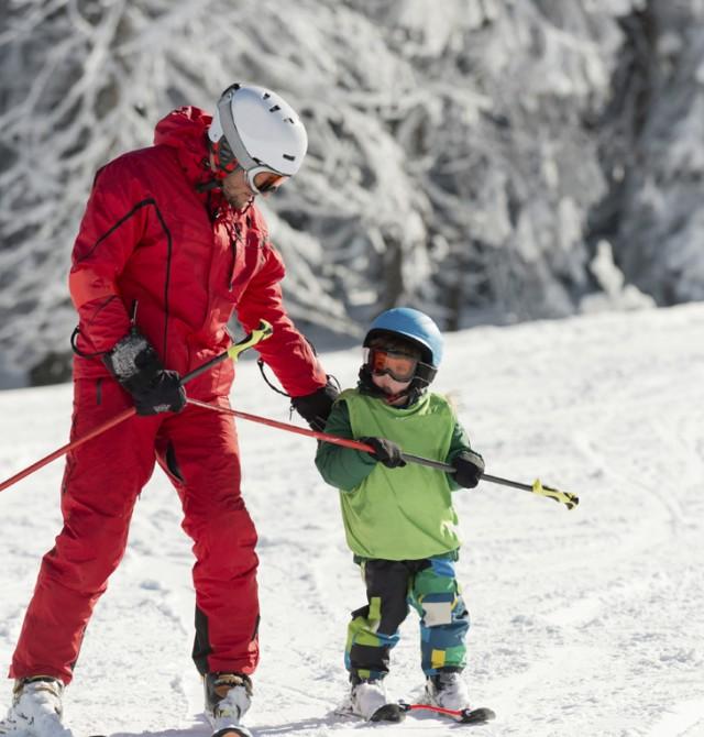 Escuela de esquí para los más pequeños