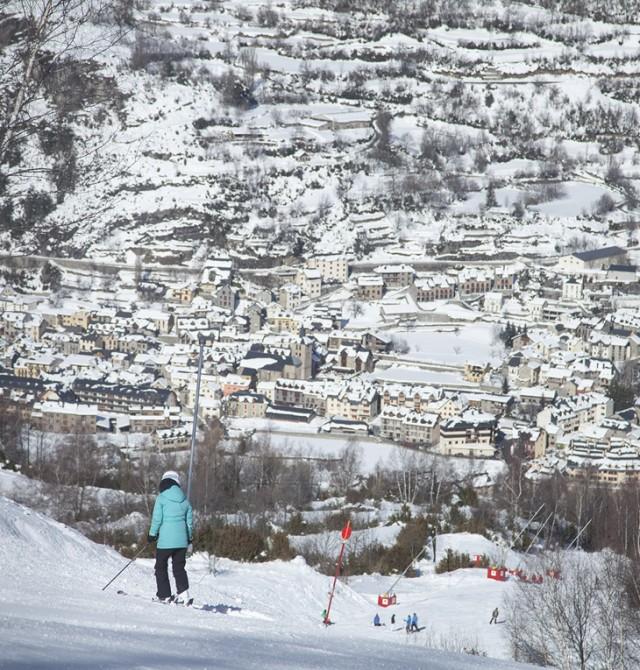 Alojamiento en un enclave privilegiado, rodeado de picos de 3.000m