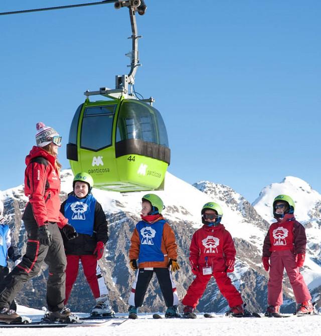 Forfait de ski gratuito para los niños de hasta 11 años